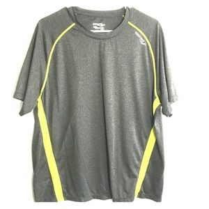 Mens Gray Saucony T Shirt
